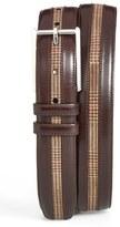Mezlan Leather & Suede Belt