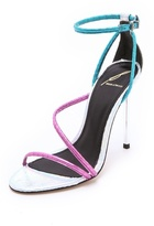 Brian Atwood Labrea Asymmetrical Sandals