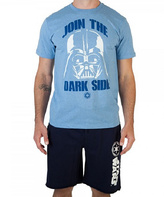Bioworld Light Blue Vader Tee - Men