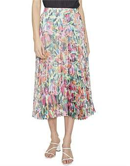 Cooper St Spirited Pleated Skirt