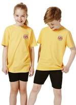F&F Unisex Embroidered School T-Shirt 3-4 yrs