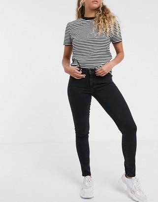 Wrangler skinny jeans in black