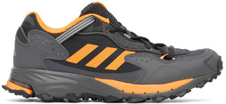 adidas Black and Orange Response Hoverturf GF6100A Sneakers