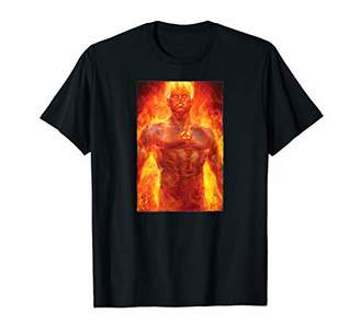 Marvel Fantastic Four Johnny Storm Human Torch T-Shirt