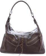 Tod's Milky Lace-Up Shoulder Bag