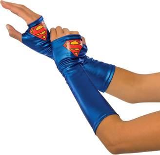 Rubie's Costume Co Women's DC Superheroes Supergirl Gauntlets
