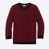 J.Crew Factory Dot-dash three-quarter sleeve sweater