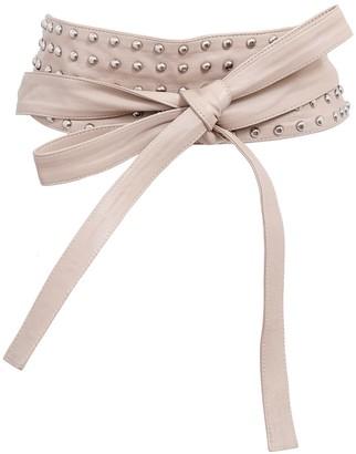 Kmana Maya Studded Wrap Belt - Nude