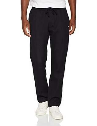 Champion Men's Straight Hem Pants 212547 Sports Tights,(Size: Large)
