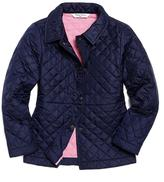 Brooks Brothers Nylon Peplum Coat