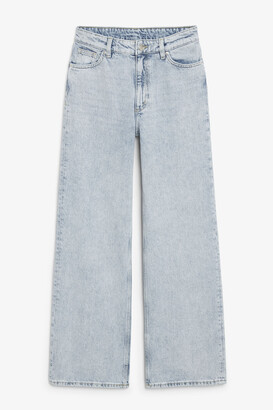 Monki Yoko jeans light blue