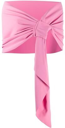 Le Petite Robe Di Chiara Boni Eva jersey scarf