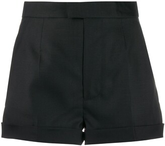 DSQUARED2 High-Waisted Fitted Shorts