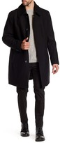 Andrew Marc Sherman Wool Blend Peacoat