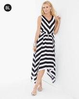 Chico's Miter-Stripe Maxi Dress