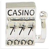 Olympia Las Vegas Slot Machine Charm - Compatible with Major Brand Bracelets