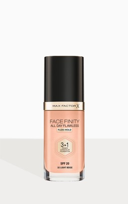 Coty Max Factor Facefinity All Day Flawless Foundation Light Beige