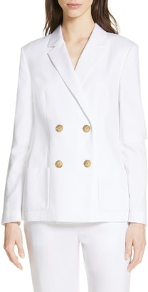 Tibi Slit Sleeve Suiting Jacket