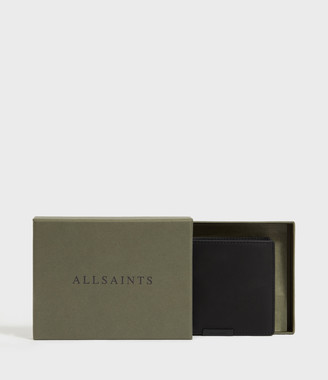 AllSaints Attain Leather Cardholder Wallet
