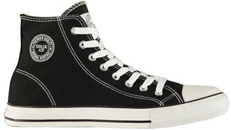 Soul Cal Soulcal SoulCal Canvas High Mens Trainers