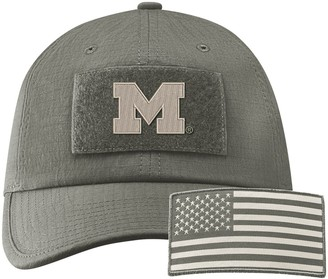 Nike Men's Green Michigan Wolverines Tactical Heritage 86 Team Performance Adjustable Hat