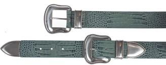 B-Low the Belt Croc Effect Belt