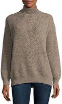 Stella McCartney Chunky Cashmere-Wool Turtleneck Sweater