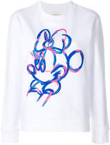 Iceberg painted Minnie sweatshirt