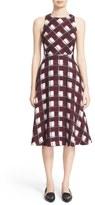 Nordstrom Women's 'Brenda' Print Silk Georgette A-Line Dress