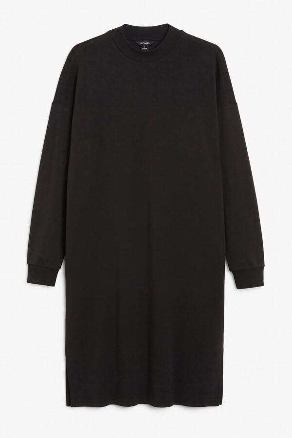 Monki Long sweatshirt dress