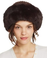 Surell Rabbit Fur Cuff Hat