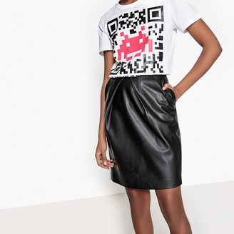 La Redoute Collections Faux Leather Pencil Skirt