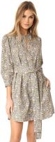 Rebecca Taylor Long Sleeve Marigold Pop Dress