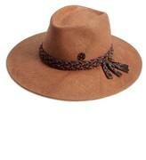 Maison Michel Women's Pierre Straw Hat - Brown