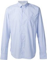Officine Generale striped shirt - men - Cotton - L