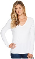 Pendleton Long Sleeve V-Neck Tee Women's Clothing
