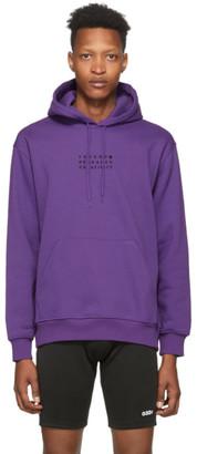 032c Purple Embroidered Hoodie