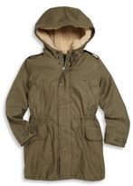 Ralph Lauren Toddler's, Little Girl's & Girl's Two-In-One Faux Fur-Lined Coat & Quilted Vest