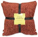 Bed Bath & Beyond Chaucer Spice Chenille Self-Reversing 2-Pack Pillow