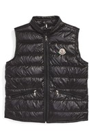 Moncler Kid's Gui Water Resistant Quilted Down Vest