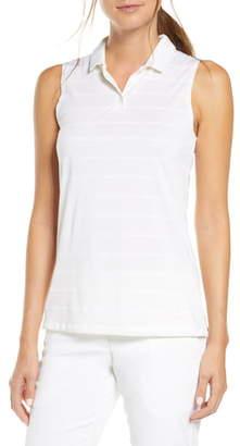 Nike Dri-FIT Stripe Sleeveless Polo