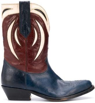 Golden Goose Western-style calf-length boots