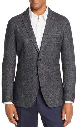 John Varvatos Melange Unconstructed Slim Fit Sport Coat