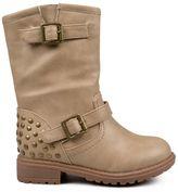Journee Collection bruno moto boots - girls