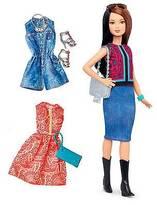 Barbie Fashionistas 41 Pretty in Paisley Doll & Fashions - Petite