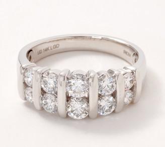 Fire Light Lab Grown Diamond 14K Gold Band Ring, 1.50cttw