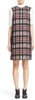 Tomas Maier Women's 'Woolly Tartan' Plaid Shift Dress