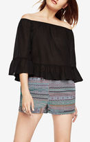 BCBGMAXAZRIA Britanee Off-The-Shoulder Top