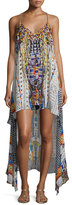 Camilla Embellished High-Low Coverup Dress, Echoes of Engai