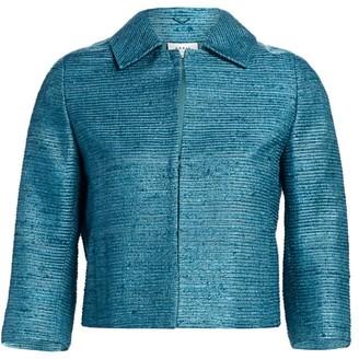 Akris Punto Silk Ottoman Jacket